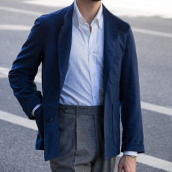 Blue Cotton Jacket